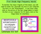 First Grade Interactive High Frequency Words SMARTBoard file
