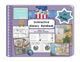First Grade Interactive History Notebook: Core Knowledge