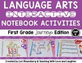 Language Arts Interactive Notebook Unit 5 {For Use With First Grade Journeys}