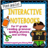 1st Grade Interactive Notebook Unit 2 {5 WEEKS} Short Vowe