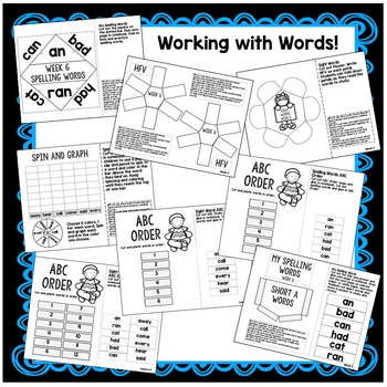 1st Grade Interactive Notebook- Summarize, Shades of Meaning, Final Consonants