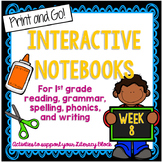 Short O, Sequencing, Statements Interactive Notebook