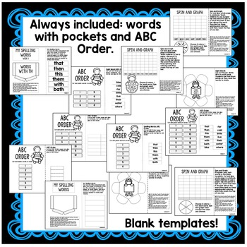 Proper Nouns, Author's Purpose, th words Interactive Notebook
