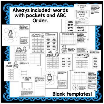 First Grade Interactive Notebook Week 23 Cause and Effect, Possessive Pronouns