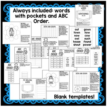 First Grade Interactive Notebook Week 25 Characters, Synonyms, Contractions