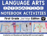 Language Arts Interactive Notebook Unit 4 {For Use With First Grade Journeys}