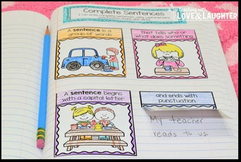 Language Arts Interactive Notebook Unit 2 {For Use With First Grade Journeys}
