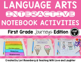 Language Arts Interactive Notebook Unit 6 {For Use With First Grade Journeys}