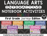 Language Arts Interactive Notebooks Bundle {Aligned to First Grade Journeys}