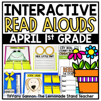 First Grade Interactive Read Aloud Lessons {April}
