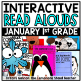 First Grade Interactive Read Aloud Lessons {January}