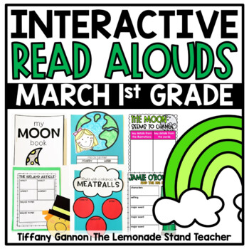 First Grade Interactive Read Aloud Lessons {March}