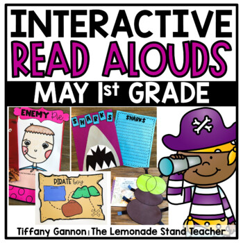 First Grade Interactive Read Aloud Lessons {May}