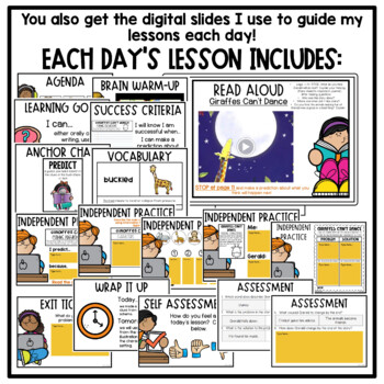 First Grade Interactive Read Aloud Lessons {September}