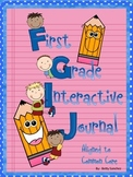 First Grade Interactive Reading Journals:  Aligned to Common Core