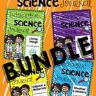 First Grade Interactive Science Journal: BUNDLE {Editable}