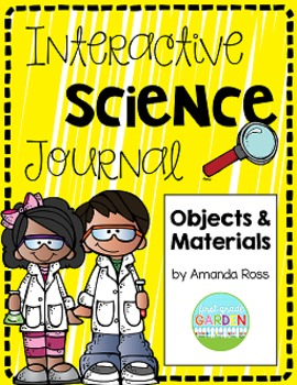 First Grade Interactive Science Journal: Objects and Materials