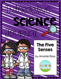 First Grade Interactive Science Journal: The Five Senses {