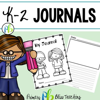 Journal for Grades K - 2 {FREE}