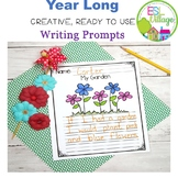 Writing Prompts First Grade Printable and Digital Version