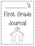 First Grade Journal Template