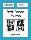 First Grade Journal by Nikki Smith