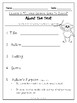 First Grade Journey's Lesson 3 Comprehension Pack