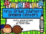First Grade Journey's Spelling Centers & Activities (Animal Groups)