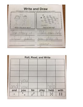 First Grade Journey's Unit 1 Lesson 1 What is a Pal?