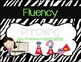 First Grade Journeys Focus Wall Zebra Theme Unit 1 Lesson 3