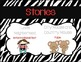First Grade Journeys Focus Wall Zebra Theme Unit 1 Lesson 4