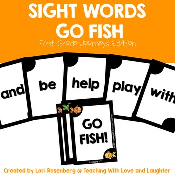First Grade Sight Word Game Bundle {For Use With First Grade Journeys}