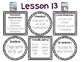 Journeys Mini Focus Wall Posters First Grade Unit 3