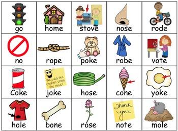 First Grade Spelling Patterns ~ Journeys ~ Unit 4