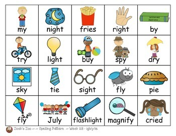 First Grade Spelling Patterns ~ Journeys ~ Unit 6
