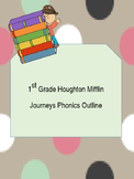 First Grade Journeys Phonics Outline