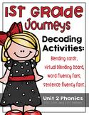 First Grade Journeys Phonics and Decoding Activities Unit 2