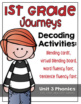 First Grade Journeys Phonics and Decoding Activities Unit 3