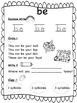 First Grade Journeys Sight Words Unit 1