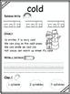 First Grade Journeys Sight Words Unit 3