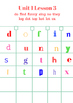 First Grade Journeys Spelling Scramble- Lessons 1-5