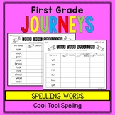 First Grade Journeys - Spelling Words: Cool Tool Spelling