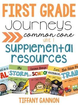 First Grade Journeys Unit 1 Bundle