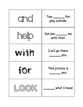 First Grade Journeys Unit 1 Sight Word Cards