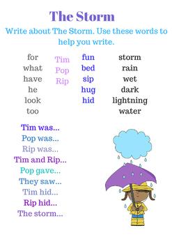 First Grade Journeys Unit 1 Writing Center Writing Starters