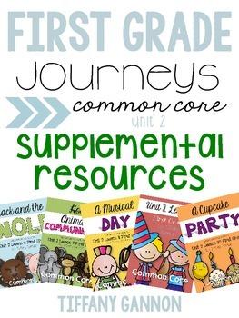 First Grade Journeys Unit 2 Bundle