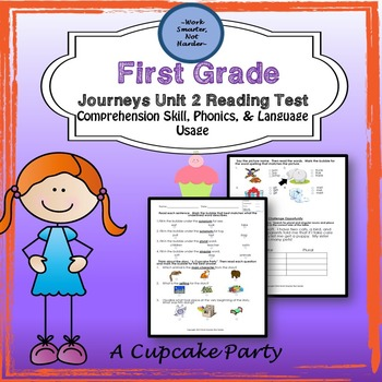 First Grade Journeys Unit 2 Lesson 10 A Cupcake Party