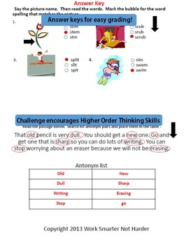 Free First Grade Journeys Unit 2 Lesson 9 Dr. S Test