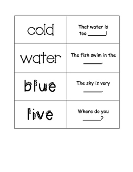 First Grade Journeys Unit 3 Sight Word Cards