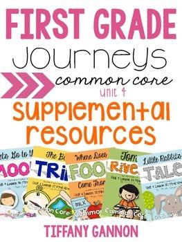 First Grade Journeys Unit 4 Bundle